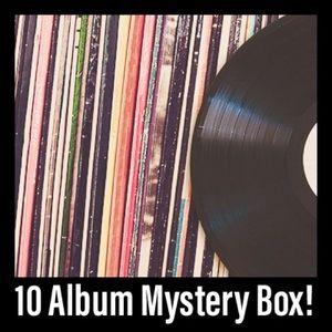 10 Album Vinyl Mystery Bundle